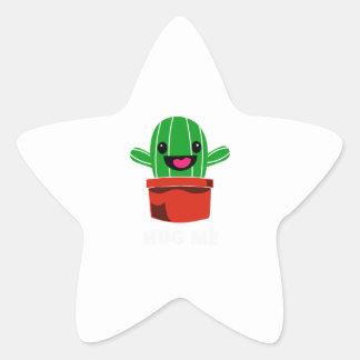 Hug Me - Cactus Star Sticker