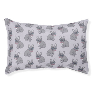 Hug me, cute Lilac Frenchie needs a hug Pet Bed