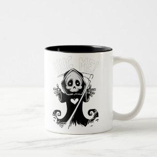 'Hug Me' Grim Reaper Mug