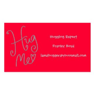 Hug Me Humorous Business Card