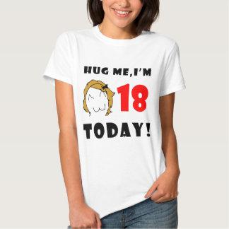Hug me, I'm 18 today! - Derpina Tees