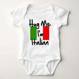Hug Me I'm Italian Baby Bodysuit