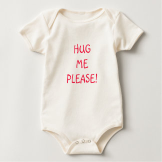 Hug Me Please! Baby Bodysuit