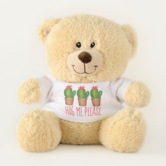 Hug Me Please Prickly Green Cactus Potted Plant Teddy Bear