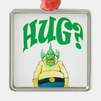 HUG? METAL ORNAMENT