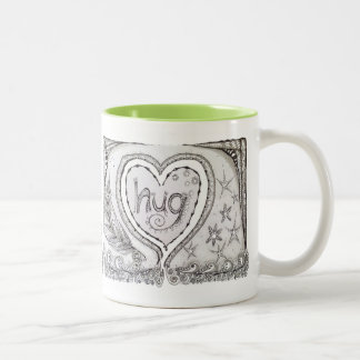 Hug Mug! Two-Tone Coffee Mug