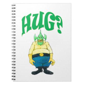 HUG? NOTEBOOK