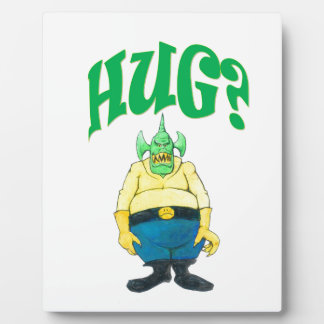 HUG? PLAQUE