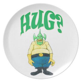 HUG? PLATE