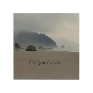 Hug Point Oregon Coast Beach Wood Print