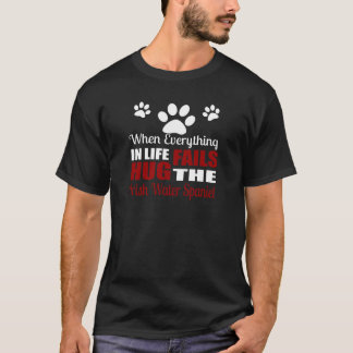 Hug The Irish Water Spaniel Dog T-Shirt