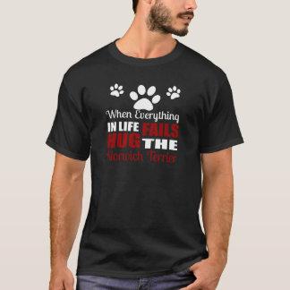 Hug The Norwich Terrier Dog T-Shirt