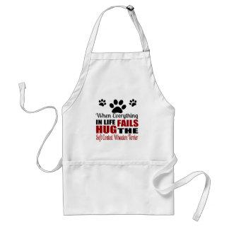 Hug The Soft Coated Wheaten Terrier Dog Standard Apron