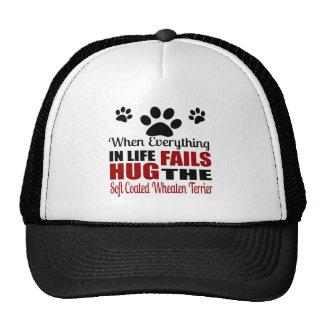 Hug The Soft Coated Wheaten Terrier Dog Trucker Hat