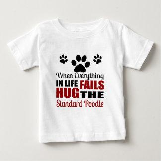 Hug The Standard Poodle Dog Baby T-Shirt