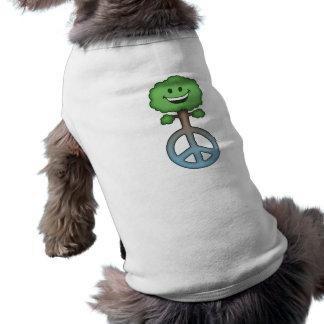 Hug-Tree-Peace Doggie T-shirt
