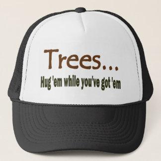 Hug Trees Trucker Hat