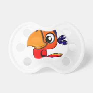 Huge beak cartoon bird pacifier