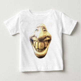 Huge Happy Face Baby T-Shirt