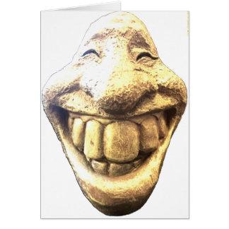 Huge Happy Face Card