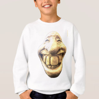 Huge Happy Face Sweatshirt