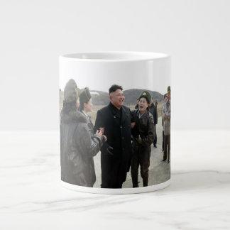 Huge Kim Jong Un Fan Club North Korea Coffee Mug
