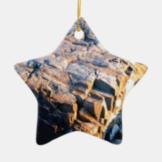 huge rock cube ceramic ornament