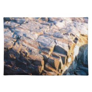 huge rock cube placemat