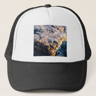 huge rock cube trucker hat