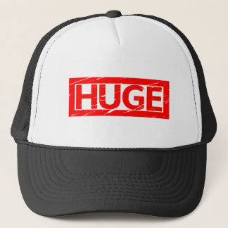 Huge Stamp Trucker Hat