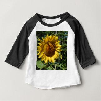 Huge Sunflower Baby T-Shirt