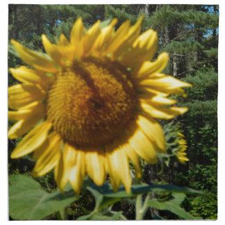 Huge Sunflower Napkin