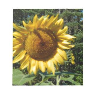Huge Sunflower Notepad