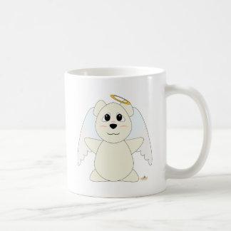Huggable Angel Polar Bear Basic White Mug
