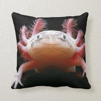 Huggable Axolotl BEAUTIFUL Pillow!! Throw Pillow