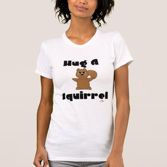 Huggable Brown Squirrel Hug A Squirrel T-Shirt