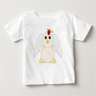 Huggable Chicken Angel Baby T-Shirt