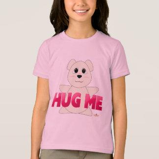 Huggable Polar Bear Pink Hug Me T-Shirt