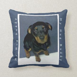 Huggable Rottweiler Puppy Pillow