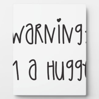 Hugger 1 plaque
