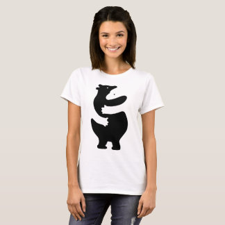 "Huggers ""Black Print"" T-Shirt"