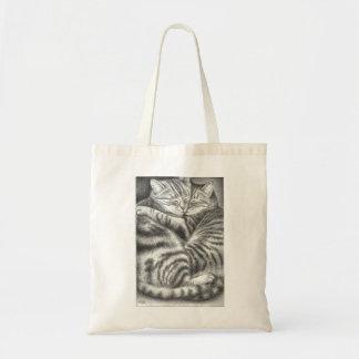 Hugging Cats Shopping Bag