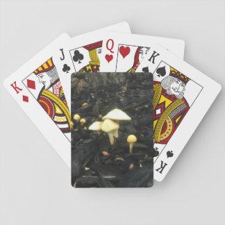Hugging Mushrooms Playing Cards
