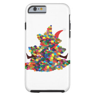 Hugging Santa Tough iPhone 6 Case