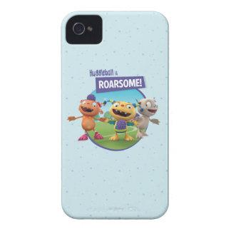 Huggleball is Roarsome! iPhone 4 Case