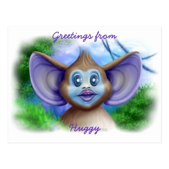 Huggy Postcard