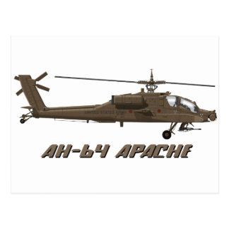 Hughes AH-64 Apache Postcard