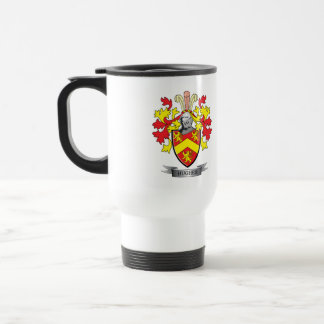 Hughes Coat of Arms Travel Mug