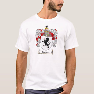 HUGHES FAMILY CREST -  HUGHES COAT OF ARMS T-Shirt