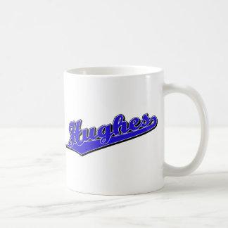 Hughes in Blue Coffee Mug